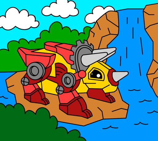Painting : Robots Apkfinish screenshots 5