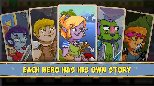Let's Journey - idle clicker RPG - offline game 1.0.37 screenshots 1