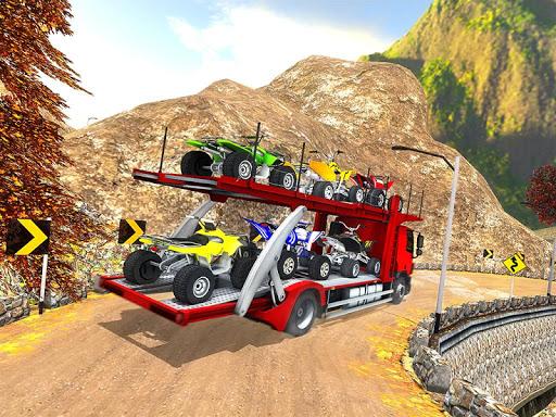 Vehicle Transporter Trailer Truck Game  screenshots 12