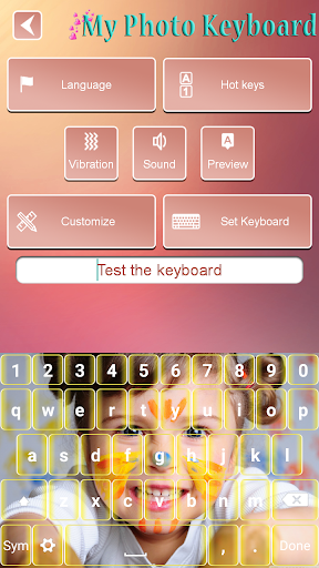 My Photo Keyboard Changer Free 1.13 Screenshots 2