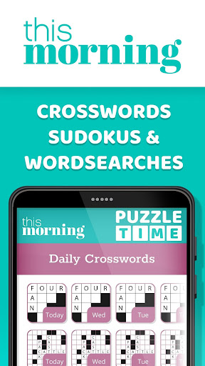 This Morning ud83cudf1e Puzzle Time ud83dudcc6 Daily Puzzles 4.3 screenshots 1