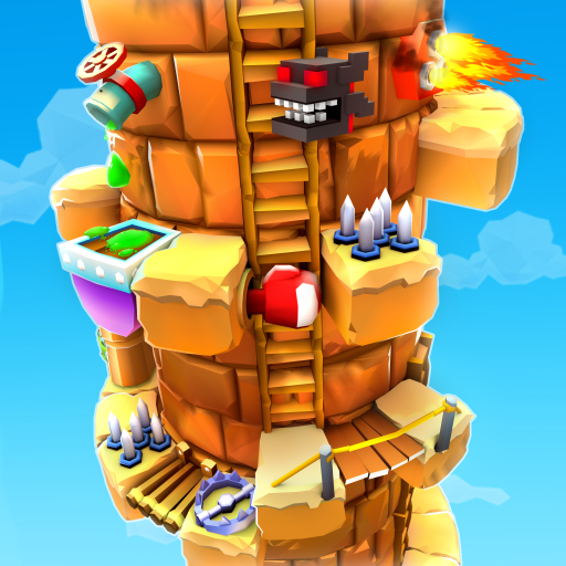 Blocky Castle Climb: Pet Jump! Cat🐱dog🐶and more!