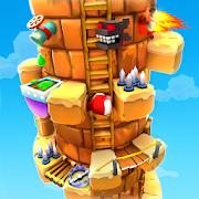 Blocky Castle Climb: Pet Jump! Cat