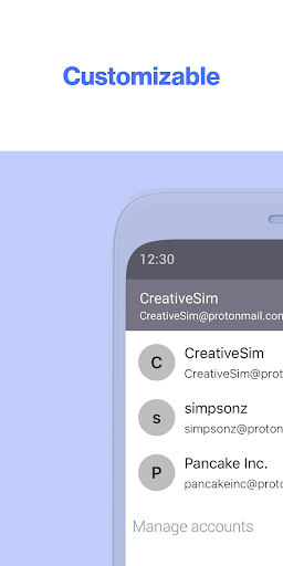 ProtonMail - Encrypted Email android2mod screenshots 5