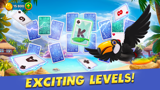Solitaire Cruise: Classic Tripeaks Cards Games 2.7.0 screenshots 8