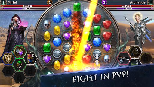 Gunspell 2 u2013 Match 3 Puzzle RPG Apkfinish screenshots 18