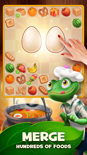 Merge Inn - Tasty Match Puzzle Game androidhappy screenshots 2