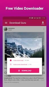Video Downloader & Player, Locker – Download Guru 2