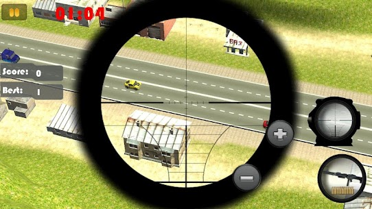 Sniper Road Traffic Shooter 3D Game Hack & Cheats 4