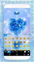 Blue Diamond Keyboard Theme