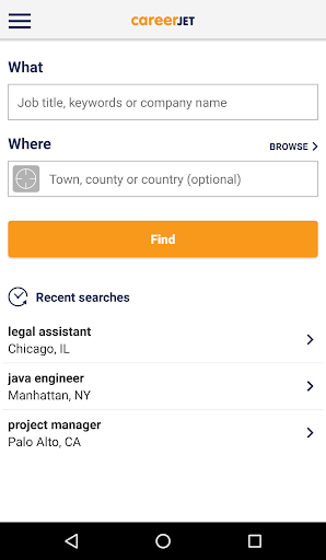 Jobs - Job Search - Careers 6.0.43 Screenshots 1