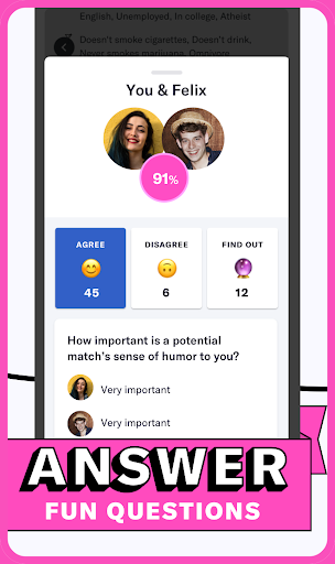 OkCupid - The Online Dating App for Great Dates screenshots 3