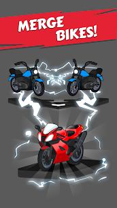 Merge Bike game Apk Mod + OBB/Data for Android. 6