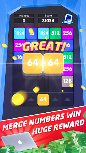Merge Numbers-2048 Game apkmartins screenshots 1