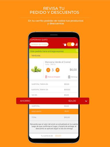 Tipti: Supermercado a domicilio modavailable screenshots 5