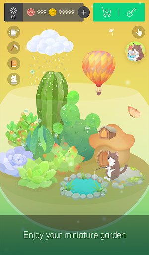 My Little Terrarium - Garden Idle apktram screenshots 13
