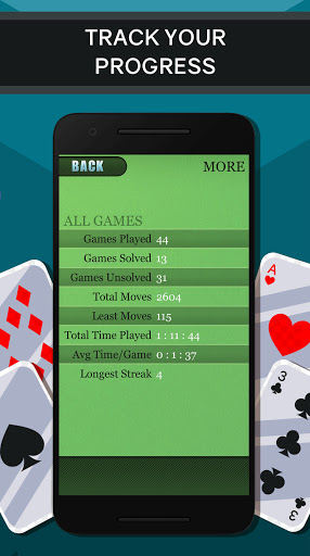 Solitaire free Card Game 2.2.2 screenshots 7