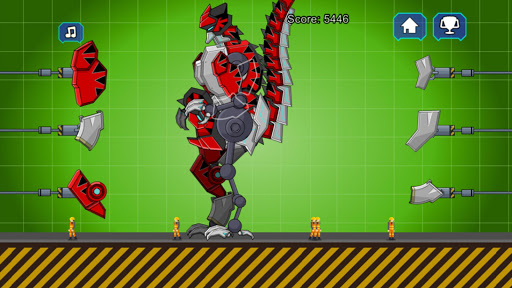 Red T-Rex Robot Dinosaur 2.5 screenshots 4