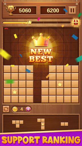 Wood Block Puzzle - Classic Brain Puzzle Game 1.5.9 screenshots 5
