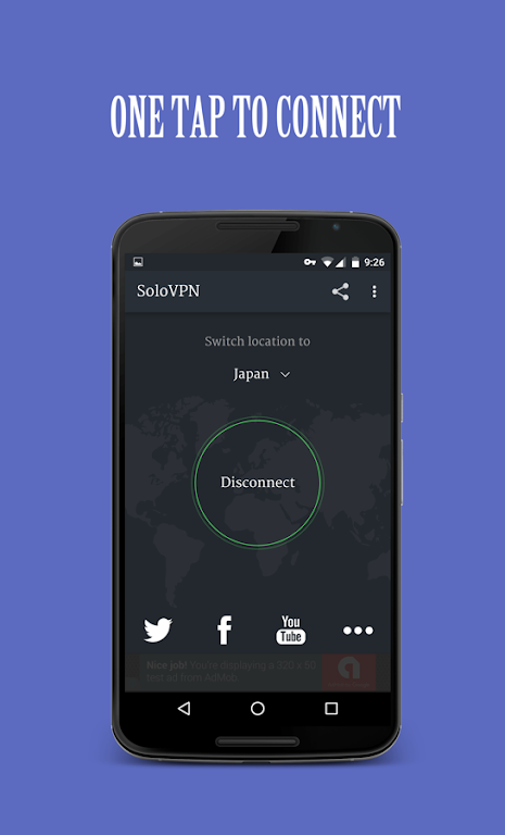 Solo VPN - One Tap Free Proxy  poster 0