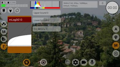 mcpro24fps - professional manual video camera app screenshot thumbnail