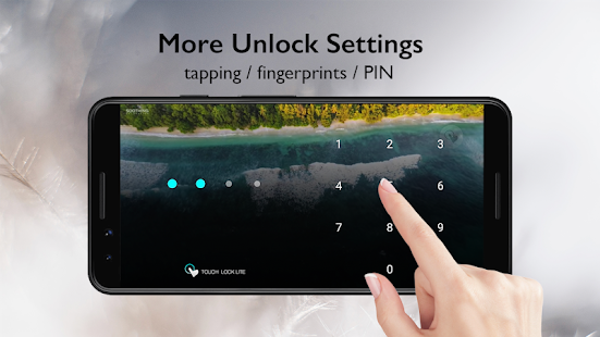 Touch Lock - disable your touch screen Screenshot