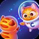 スペースCat進化:キティの収集に銀河 - Androidアプリ