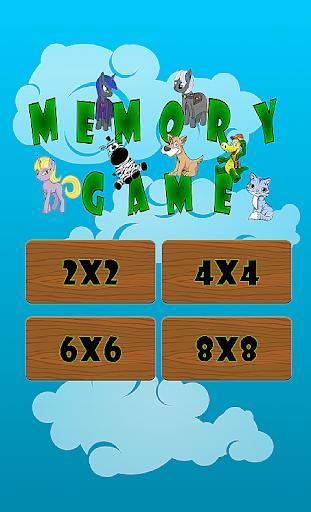 memory game screenshot 1