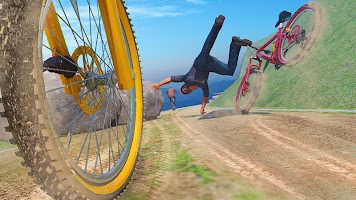 Offroad Bicycle BMX Riding