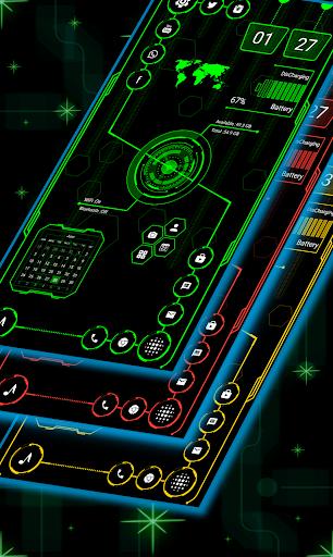 Visionary Launcher 2021 App lock, Hitech Wallpaper 27.0 Screenshots 9
