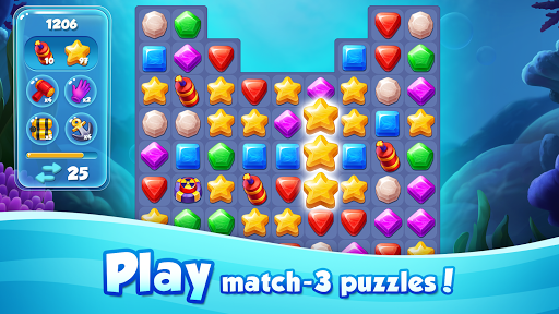 Aqua Blast: Fish Matching 3 Puzzle & Ball Blast 1.4.2 screenshots 4