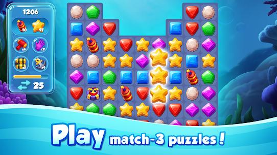 Aqua Blast: Fish Matching 3 Puzzle & Ball Blast 4