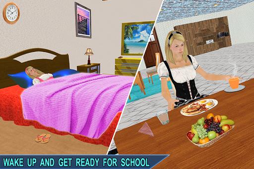 Virtual School Girl Simulator: High School Game 2.02 screenshots 1