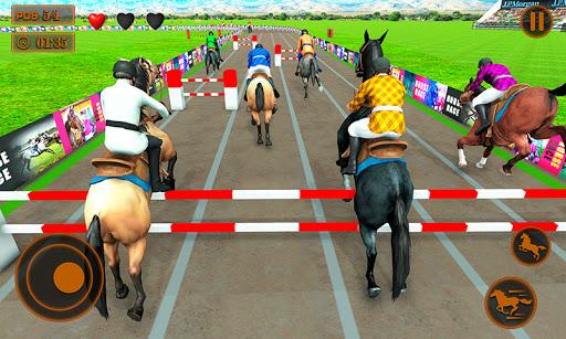 Télécharger monté jeux de course de chevaux derby cheval sim  APK MOD (Astuce) screenshots 1