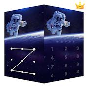 AppLock Live Theme Astronaut – Paid Theme
