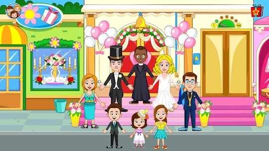 My Town : Wedding Bride Game for Girls Free (MOD, Unlimited Money) For Android 6