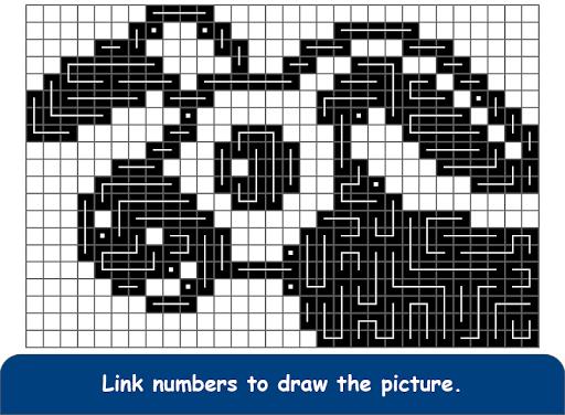 FCross Link-A-Pix puzzles 252 screenshots 9