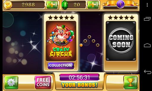Slots - Circus's Way - Free 777 Vegas Slot Casino 1.6.0 screenshots 2
