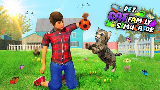Pet Cat Simulator Family Game Home Adventure 1.5 screenshots 12