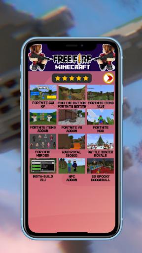 Update Mod Free fire for MCPE 1.4 Screenshots 3
