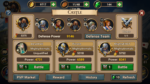 Chaos Lords: Stronghold Kingdom - Medieval RPG War screenshots 12