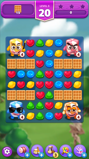 Lollipop & Marshmallow Match3  screenshots 17