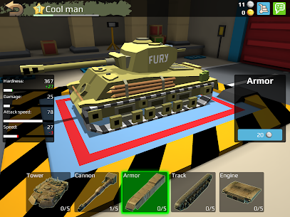 World Of Cartoon Tanks Hack for iOS and Android 1
