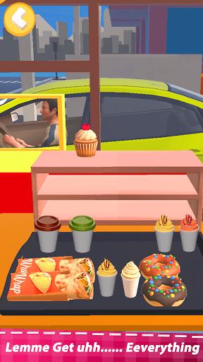 Food Simulator Drive Thru Cahsier 3d Cooking games screenshots 2