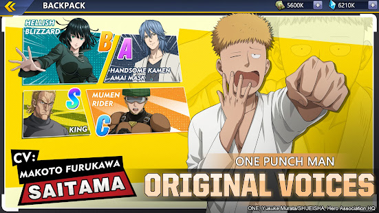 One-Punch Man: Road to Hero 2.0 mod apk