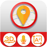 GPS Navigation: Live Map Direction, Route, GPS
