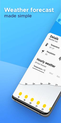 Overdrop - Weather Widget & Weather Radar  screenshots 1