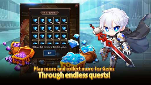 Weapon Heroes : Infinity Forge(Idle RPG)  screenshots 2