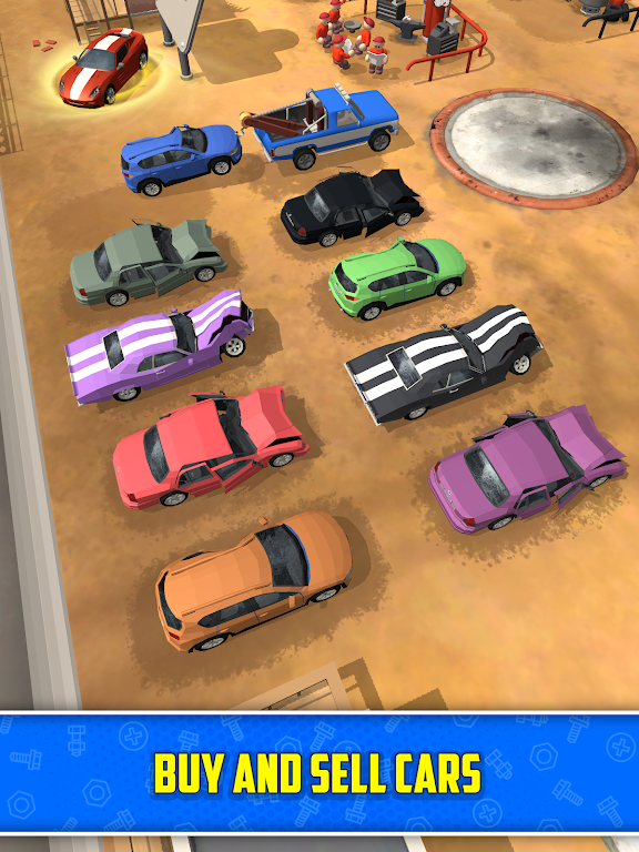 Scrapyard Tycoon Idle Game poster 10