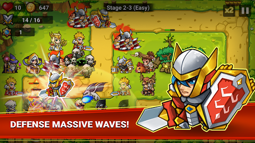 Defense Heroes: Defender War Tower Defense Offline screenshots 2